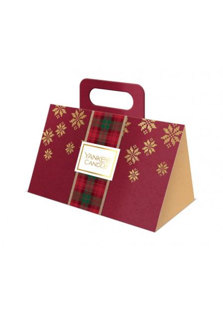 """Подарочный набор 3 вотива """"Рождество в Альпах"""" (Уютный дом, Гранатовый джин, Белая ель)"""