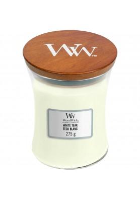 Белый тик свеча средняя 275гр.