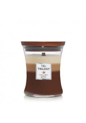 Кофейные сладости свеча средняя трилогия 275гр.