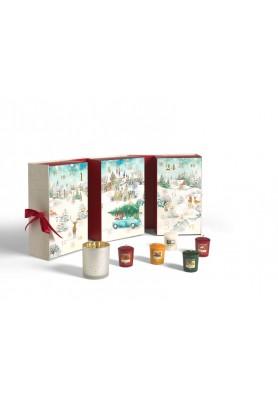 """Подарочный набор адвент календарь-книга """"Волшебство Рождественского утра"""""""