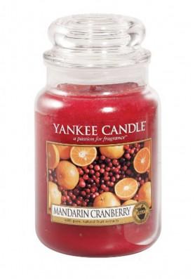 Ароматическая свеча Yankee Candle Mandarin Cranberry / Мандарин и клюква
