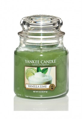 Ароматическая свеча Yankee Candle Vanilla Lime / Ваниль и лайм