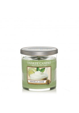 Ароматическая свеча в стакане Yankee Candle / Ваниль и лайм