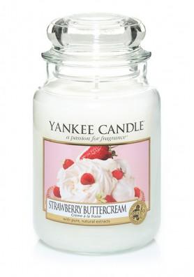 Ароматическая свеча Yankee Candle Strawberry Buttercream / Клубника со сливками