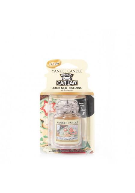 АРОМАТИЗАТОР ДЛЯ АВТО YANKEE CANDLE Christmas Cookie / Рождественское печенье