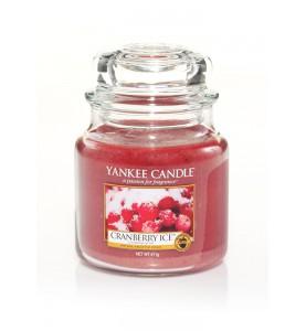 АРОМАТИЧЕСКАЯ СВЕЧА YANKEE CANDLE  Cranberry Ice / Клюква со льдом