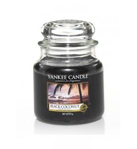 Ароматическая свеча Yankee Candle Black Coconut / Чёрный кокос