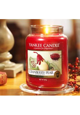 Ароматическая свеча Yankee Candle Cranberry Pear / Клюква и груша /