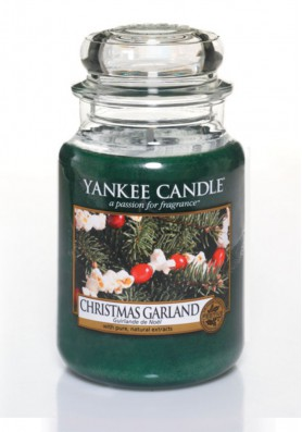 АРОМАТИЧЕСКАЯ СВЕЧА YANKEE CANDLE  Christmas Garland / Рождественская гирлянда