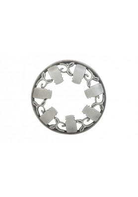 Декоративная крышка старое серебро WBLC ILLUMALID BRUSHED SILVER