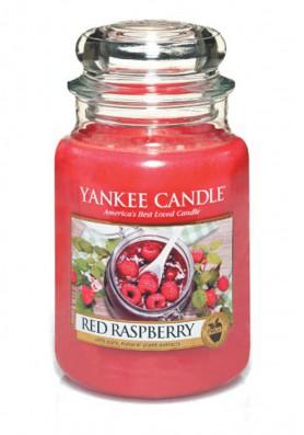 АРОМАТИЧЕСКАЯ СВЕЧА YANKEE CANDLE Red Raspberry  / Красная Малина