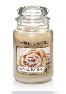 АРОМАТИЧЕСКАЯ СВЕЧА YANKEE CANDLE Pain au raisin / Булочка с изюмом