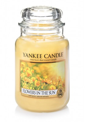 АРОМАТИЧЕСКАЯ СВЕЧА YANKEE CANDLE FLOWERS IN THE SUN /ЦВЕТЫ НА СОЛНЦЕ