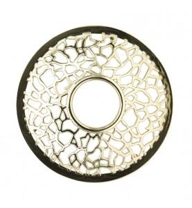 Декоративная крышка Серебристая матрица MATRIX BRUSHED SILVER ILLUMALID