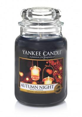 АРОМАТИЧЕСКАЯ СВЕЧА YANKEE CANDLE AUTUM NIGHT / Осенняя ночь