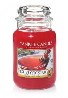 АРОМАТИЧЕСКАЯ СВЕЧА YANKEE CANDLE  Festive cocktail / Праздничный коктейль