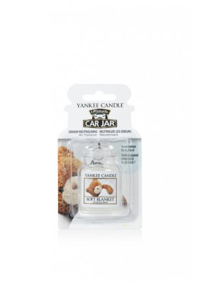 АРОМАТИЗАТОР ДЛЯ АВТО YANKEE CANDLE Soft Blanket / Мягкое одеяло