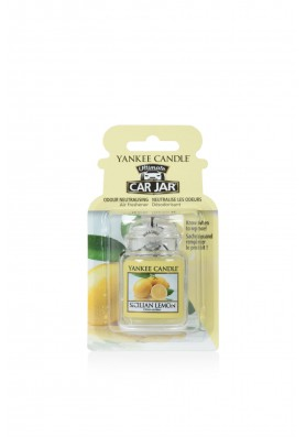 АРОМАТИЗАТОР ДЛЯ АВТО Yankee Candle Сицилийский лимон / CAR JAR ULTIMATE SICILIAN LEMON