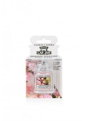 АРОМАТИЗАТОР ДЛЯ АВТО YANKEE CANDLE FRESH CUT ROSES / Свежесрезанные розы