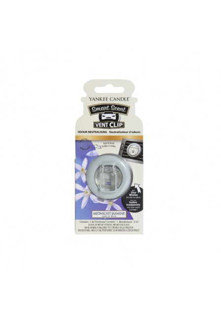 АРОМАТИЗАТОР ДЛЯ АВТО YANKEE CANDLE Midnight Jasmine / Ночной жасмин