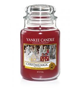 АРОМАТИЧЕСКАЯ СВЕЧА YANKEE CANDLE Christmas Magic / Рождественское волшебство