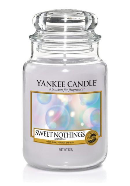 АРОМАТИЧЕСКАЯ СВЕЧА YANKEE CANDLE Sweet nothings / Сладость