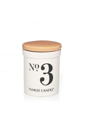 Ароматическая свеча в керамике Yankee Candle №3 Coconut and Mandarin / Кокос и мандарин
