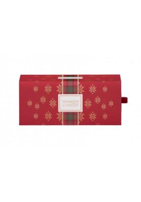 """Подарочный набор 3 свечи """"Рождество в Альпах"""""""