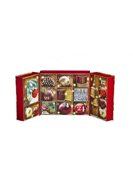 """Подарочный набор адвент календарь  """"Рождество в Альпах"""""""