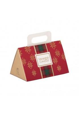 """Подарочный набор 3 вотива """"Рождество в Альпах"""" (Уютный дом, Зимнее чаепитие, Вечнозеленая хвоя)"""
