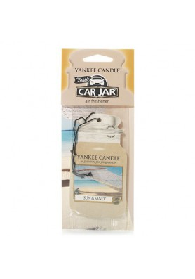 АРОМАТИЗАТОР ДЛЯ АВТО YANKEE CANDLE SUN AND SAND / СОЛНЦЕ И ПЕСОК