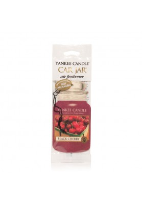 АРОМАТИЗАТОР ДЛЯ АВТО YANKEE CANDLE BLACK CHERRY / ЧЕРНАЯ ЧЕРЕШНЯ