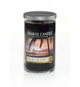 Ароматическая свеча в стакане Yankee Candle Black coconut / Чёрный кокос