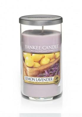 Ароматическая свеча Yankee Candle Lemon Lavender в стакане Лимон и лаванда