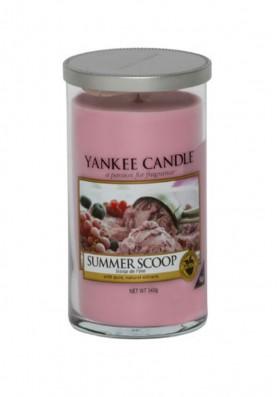 Ароматическая свеча в стакане Yankee Candle Summer Scoop / кусочек лета