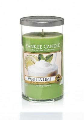 Ароматическая свеча в стакане Yankee Candle Vanilla Lime / Ваниль и лайм