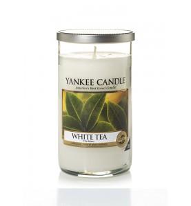 АРОМАТИЧЕСКАЯ СВЕЧА YANKEE CANDLE WHITE TEA / БЕЛЫЙ ЧАЙ