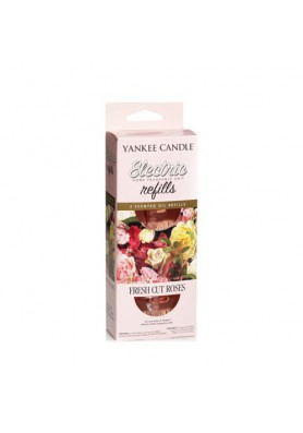YANKEE CANDLE SCENT PLUG REFILLS FRESH CUT ROSES / СВЕЖЕСРЕЗАННЫЕ РОЗЫ